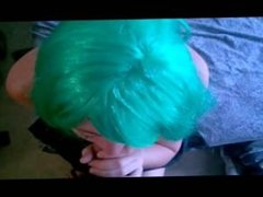 Green haired Lizzy