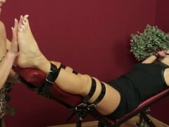 Gagged and Foot Lickled Corazon (CzechSexyFeet)