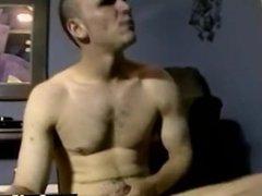 Sexy gay Nimrod gives him a friendly fuck, and masturbates him off to