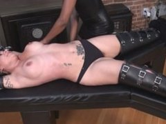 Iridal stretched and tickled