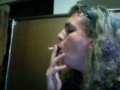 Kristine smokes a 120