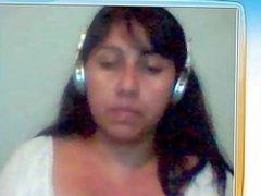 Isabel argentina me muestra tetas por web cam parte 2