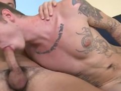Naked guys   Zach can't get enough of Dakota's caboose and Dakota can't