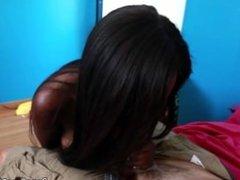 Ebony lesbian first cock experience