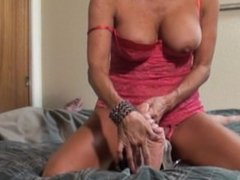 Milf tickles guy