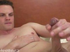 Hot Brunette Straight Guy Michael Masturbating