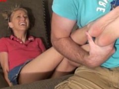 Tickling Rene's Tiny Feet POV