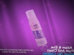Adult Sex Toy Anti-Bacterial Cleaner -- √ Vibrators, √ Dildos, √ Cock Rings