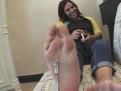 Bridget big feet soles size 11