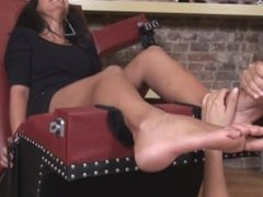 Gorgeous Indian Rani Tickle Tortured