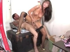 Two Gorgeous Brunetter With Wet Pussies Find 3 Cocks