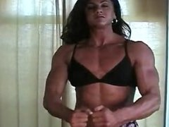 Fbb Mary Posing and Flexing