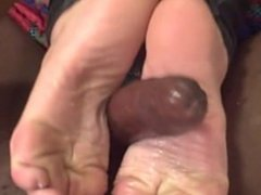Raci Laci interracial french pedicure foot job