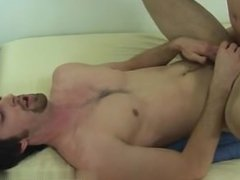 Hot gay Sure enough, spunk sprayed over Jeremy's tummy and pubes even as