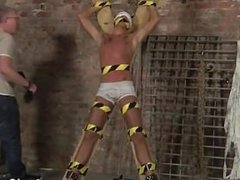 Hot twink scene Slave Boy Made To Squirt
