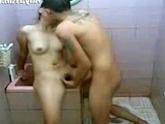 Pinay Teen Couple Fucking In Bathroom