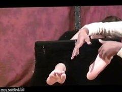 Stoned Girl Tickled