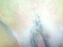 Brazilian girl creaming pussy