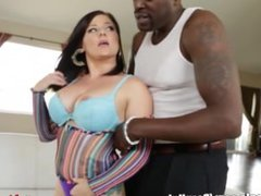Latina Ass Fucked and Facialed by Huge Black Cock