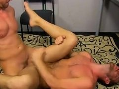 Naked men Muscle Top Mitch Vaughn Slams Parker Perry