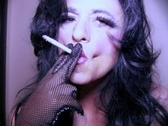 Sissy Tia Seductive Glove Smoke
