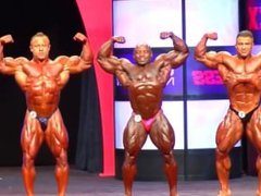 ASIAN MUSCLEBULL HIDE: Comparisons 2014 Mr. Olympia