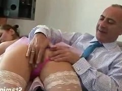 fucking the hot girl in stockings