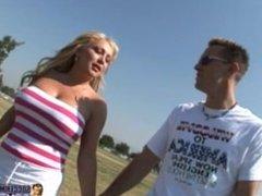 Blonde Big Tits MILF Soccer Mom Gets Fucked