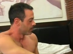 Twink movie of Mike ties up and blindfolds the youthful Spaniard before