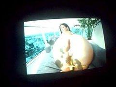 Hot Jerking on this Sexy Big Fat Ass Latina Chick