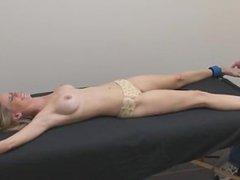 spread topless tickling