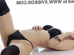 Japanese black thigh high stockings toys japan-adult.com/pornh