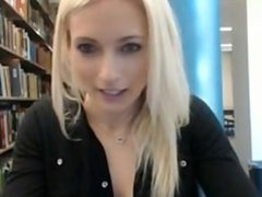 Library Cam Girl gets Caught new