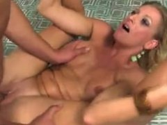 Avona Dominica Sucks And Fucks Lucky Cock