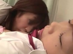Schoolgirl Kissing Getting Her Nipples Sucked Shaved Pussy Licked By Her Cl