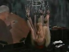 Swinging Blonde Slave