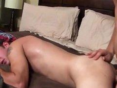 Nude men Caleb takes his own turn pleasing Nicks stiffy with his