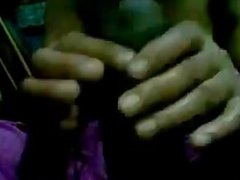 Indian Housewife Giving A Handjob POV