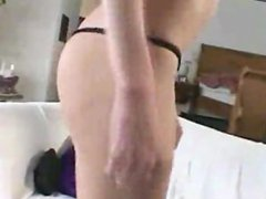 Blonde Amateur Dirty Talk and Facial POV