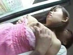 Japanese cute girl sex In Train japan-adult.com/pornh