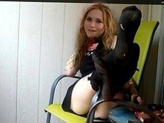 Stinky feet Devil Mary-Kate