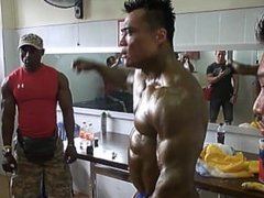 ASIAN MUSCLEBULL BACKSTAGE: Asian World Championship 2011