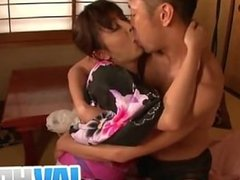 Japanese sexy girl Marika blowjob in pussy creampie japan-adult.com/pornh
