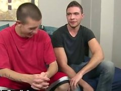 Hot gay scene He glazes Marco's man-meat with his mouth, pleasuring him