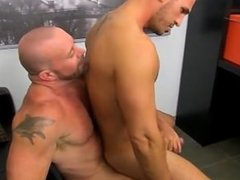 Hardcore gay Horny Office Butt Banging