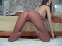 Are You Ready To Beat Off For A Hooters Girl - Pantyhose Jerk Off Encourage