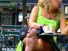 blonde mature soles