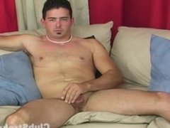 Sexual Straight Guy Tyler Masturbating