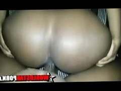 Big Phat Black Amateur Ass + Big Black Amateur Dick = You Viewing This Vid