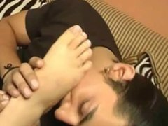 licking feet of of his aunty part 1
